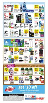 Meijer Ad Health and Beauty Care April 22 28 2018
