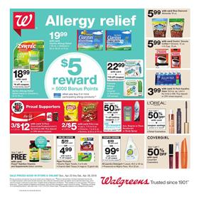Walgreens Weekly Ad Grocery April 22 28 2018