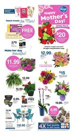 Kroger Ad Mothers Day Gifts May 9 15 2018