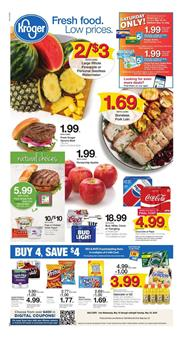 Kroger Weekly Ad Mix and Match Sale May 16 22 2018
