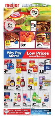 Meijer Weekly Ad Grilling Deals May 20 26 2018