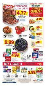 Ralphs Weekly Ad 4 Days Only Sale