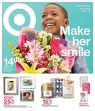 Target Weekly Ad Mothers Day May 6 12 2018