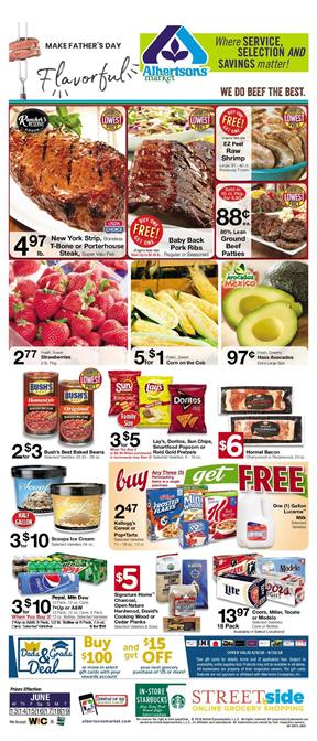 Albertsons Ad Mix or Match Sale 10 for 10
