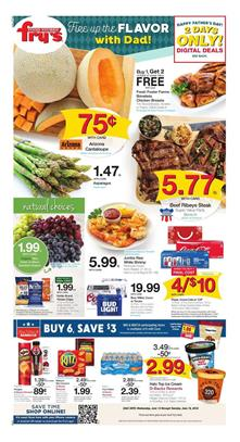 Frys Weekly Ad Fathers Day Grilling Jun 13 19 2018