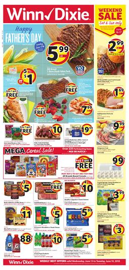 Winn Dixie Weekly Ad Grocery Products Jun 13 19 2018