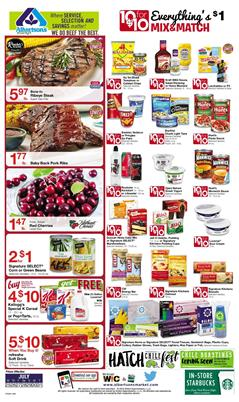 Albertsons Ad Mix or Match Sale Jul 25 31 2018
