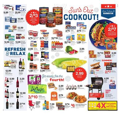 Kroger Weekly Ad 4th of July Deals 2018