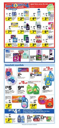 Meijer Ad Cleaning Products Mix and Match Sale