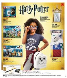 Target Weekly Ad LEGO Harry Potter Sets
