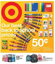 Target Weekly Ad School July 15 21 2018