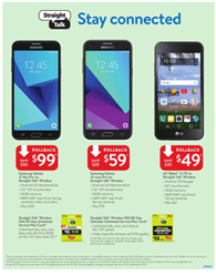 Walmart Ad Mobile Phones July 2018