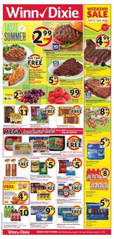 Winn Dixie Weekly Ad Deals Aug 1 7 2018