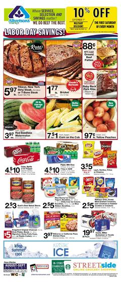 Albertsons Weekly Ad Deals Aug 29 Sep 4 2018
