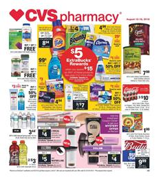 CVS Weekly Ad Deals Aug 12 18 2018
