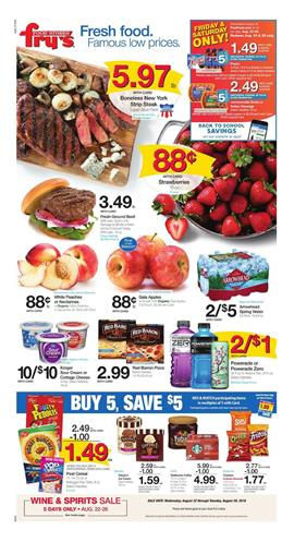 Frys Weekly Ad Deals Aug 22 28 2018