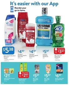 Walmart Ad Oral Care Products Aug 12 30 2018