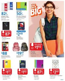 Walmart Ad School Products Aug 11 2018