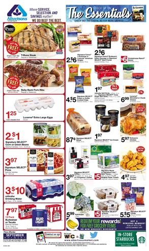 Albertsons Weekly Ad Deals Sep 12 18 2018