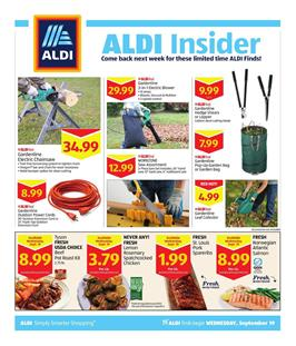 Aldi Insider Ad Deals Sep 19 25 2018