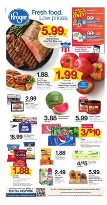 Kroger Weekly Ad Mix and Match Sale Sep 12 18 2018