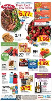 Ralphs Weekly Ad Deals Sep 19 25 2018