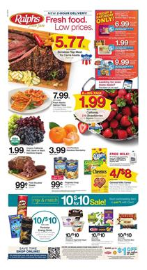 Ralphs Weekly Ad Deals Sep 5 11 2018