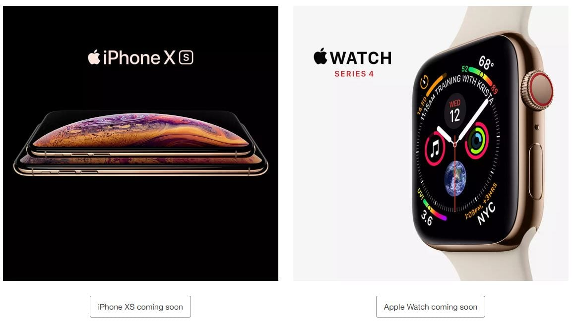 Target Ad iPhone Xs