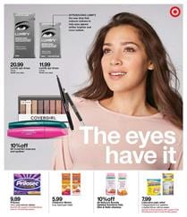 Target Weekly Ad Cosmetics Sep 30 Oct 6 2018