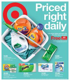 Target Weekly Ad Household Products October 2018