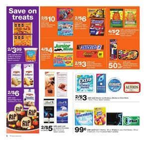 Walgreens Ad Halloween Snacks Sep 30