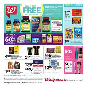 Walgreens Ad Home Products Sep 30 Oct 6 2018