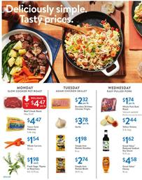Walmart Ad Fall Grocery Sale October 2018