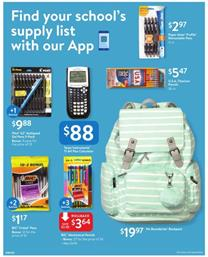 Walmart Ad School Products Aug 31 Sep 15 2018
