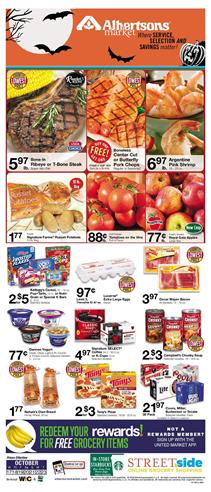 Albertsons Weekly Ad Food Deals Oct 17 23 2018