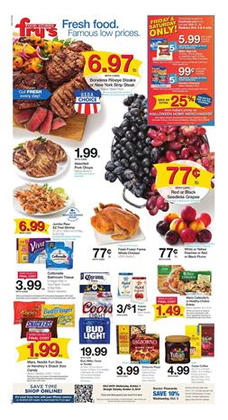 Frys Weekly Ad Deals Oct 3 9 2018