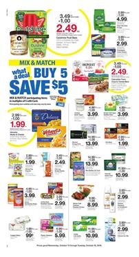 Frys Weekly Ad Mix and Match Sale Oct 10 16 2018