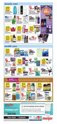 Meijer Weekly Ad Health Products Oct 21 27 2018