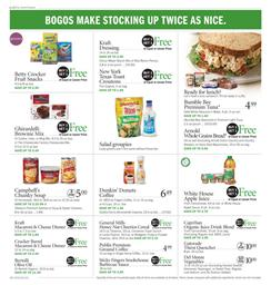 Publix Weekly Ad BOGO Free Sale Oct 4 10 2018