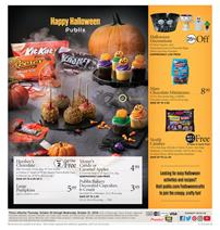 Publix Weekly Ad Halloween Sale Oct 25 31 2018