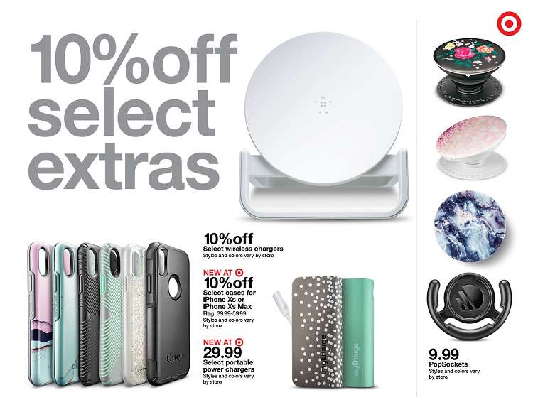 Target Ad Apple accessories