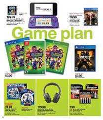 Target Weekly Ad Game Sale Oct 21