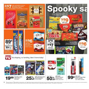 Walgreens Weekly Ad Halloween Treats Oct 7 13 2018