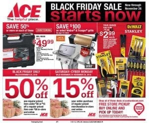 Ace Hardware Black Friday Ad 2018