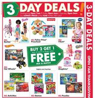 Big Lots Black Friday Buy 2 Get 1 Free