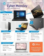 HP Cyber Monday Ad 2018 All in One PCs