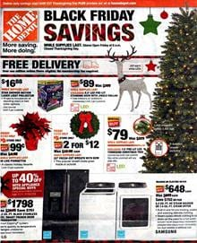 Home Depot Black Friday Ad Christmas Products