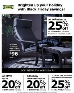 Ikea black friday ad 2018
