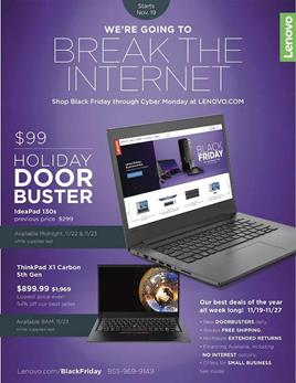 Lenovo Black Friday Ad 2018 1