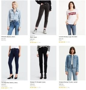 Levis Black Friday Women 2018